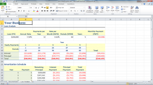 Excel for bookkeeping